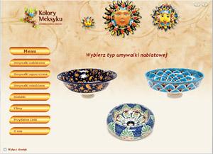 Prezentacja produktów - Kolory Meksyku