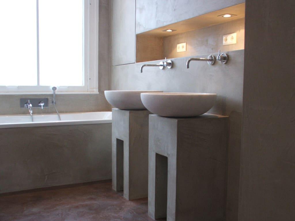 Betonowe Umywalki Łazienkowe