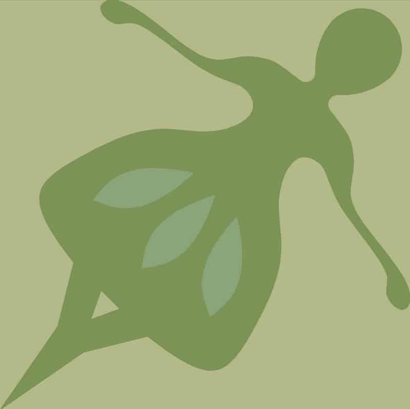Zielona płytka folk cemetnowa