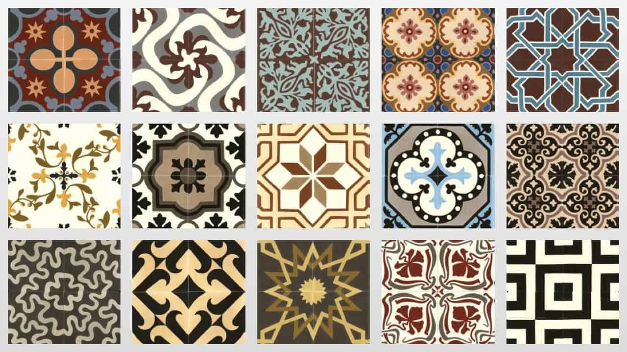 Płytki cementowe – hiszpańskie płytki podłogowe