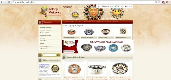 Sklep internetowy Kolory Meksyku
