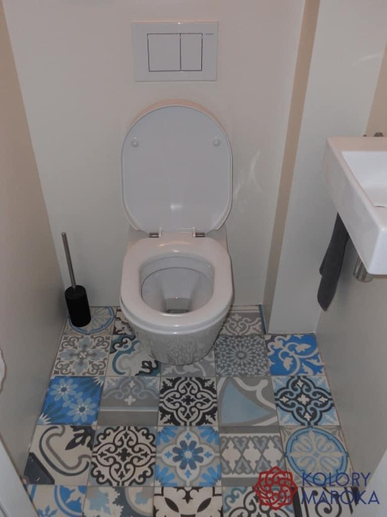 Patchwork w toalecie