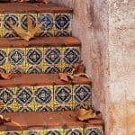 Schody w stylu meksykańskim