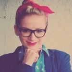 Justyna Bocian-Temporale, autorka bloga Republika Kolorów