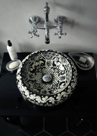 SELENA, meksykańska umywalka talavera ze sklepu Kolory Meksyku