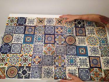 Ręcznie malowane płytki ceramiczne talavera ze sklepu Kolory Meksyku