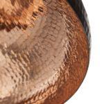 Lampa miedziana wiszaca - sufitowa lampa z ręcznie kutej miedzi 09