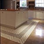 Kuchnia - płytki cementowe