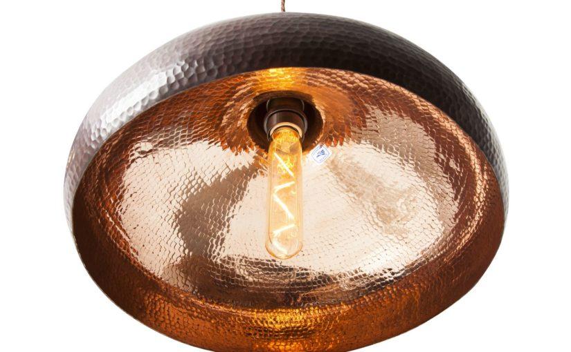 Lampy miedziane – Ręcznie kute lampy z prawdziwej miedzi